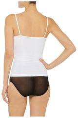 Yummie Tummie Stella Stretch cotton Camisole in White - Lyst