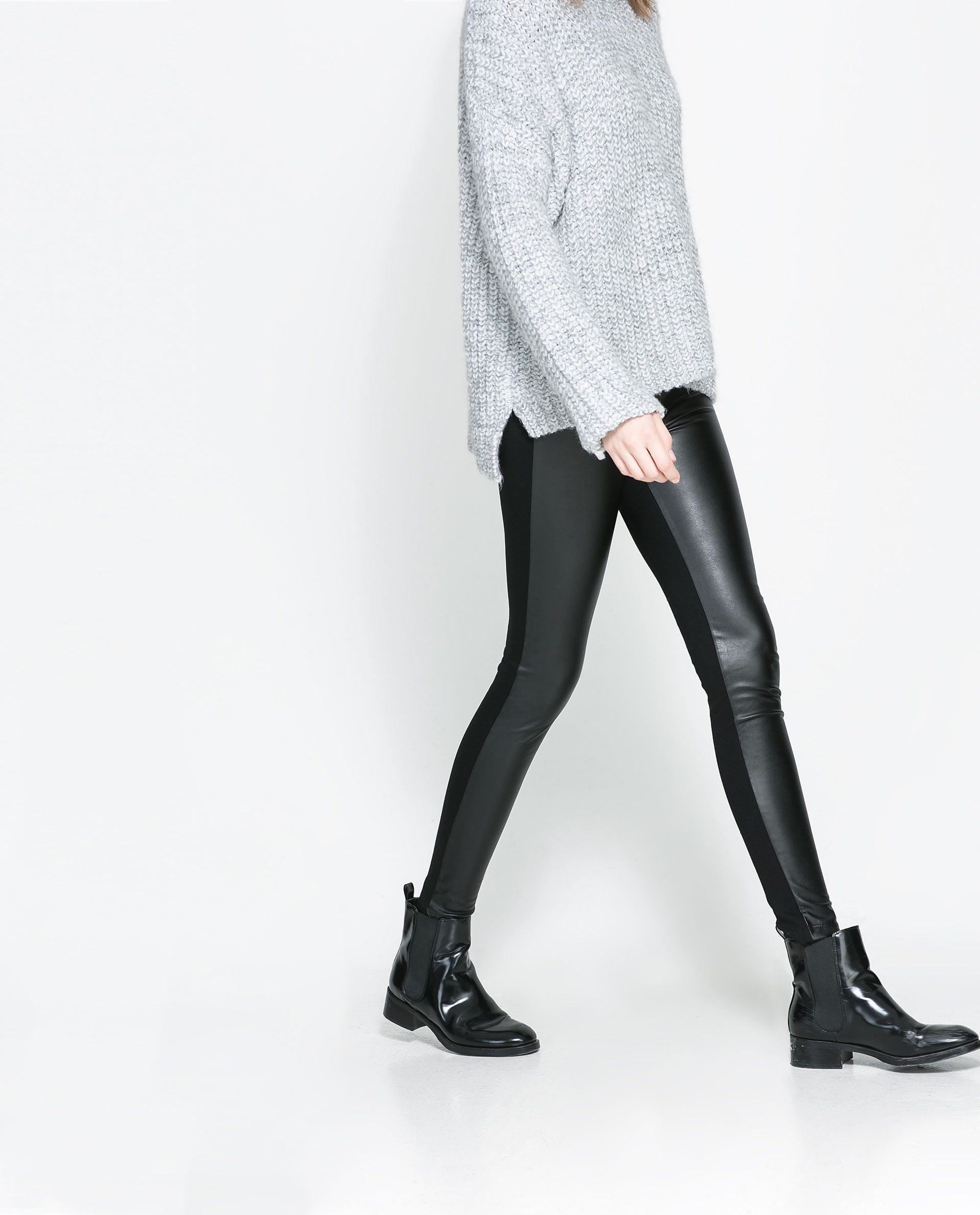 Popular LEATHER TROUSERS  View All  Trousers  WOMAN  ZARA United States