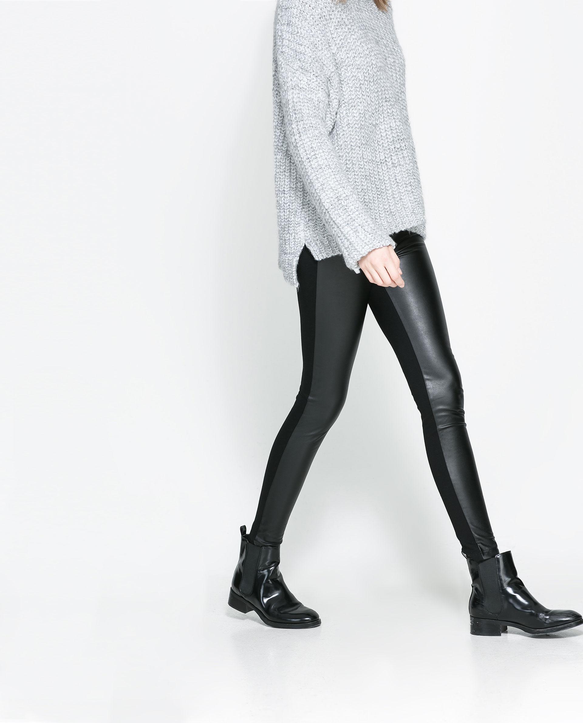 Excellent Women39s Faux Leather Pants Women39s Black Leather Pants