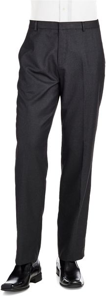 Calvin Klein Pin Stripe Slacks - Lyst