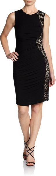 Cynthia Steffe Jordan Lace Panel Dress - Lyst