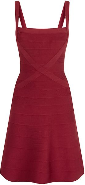 Hervé Léger Faith Bandage Dress - Lyst