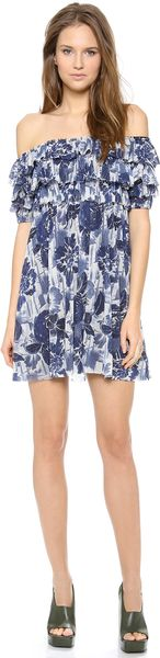 Jean Paul Gaultier Short Sleeve Dress - Lyst