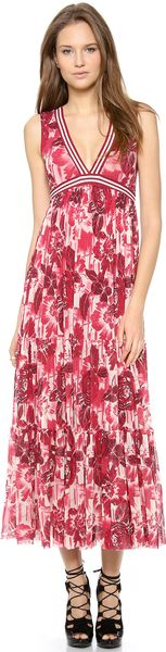Jean Paul Gaultier Sleeveless Maxi Dress - Lyst