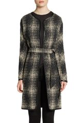 Lafayette 148 New York Wynonna Piped Wool Blend Coat - Lyst