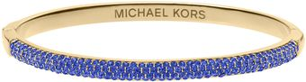 Michael Kors Camille Pave Bangle Sapphiregolden - Lyst