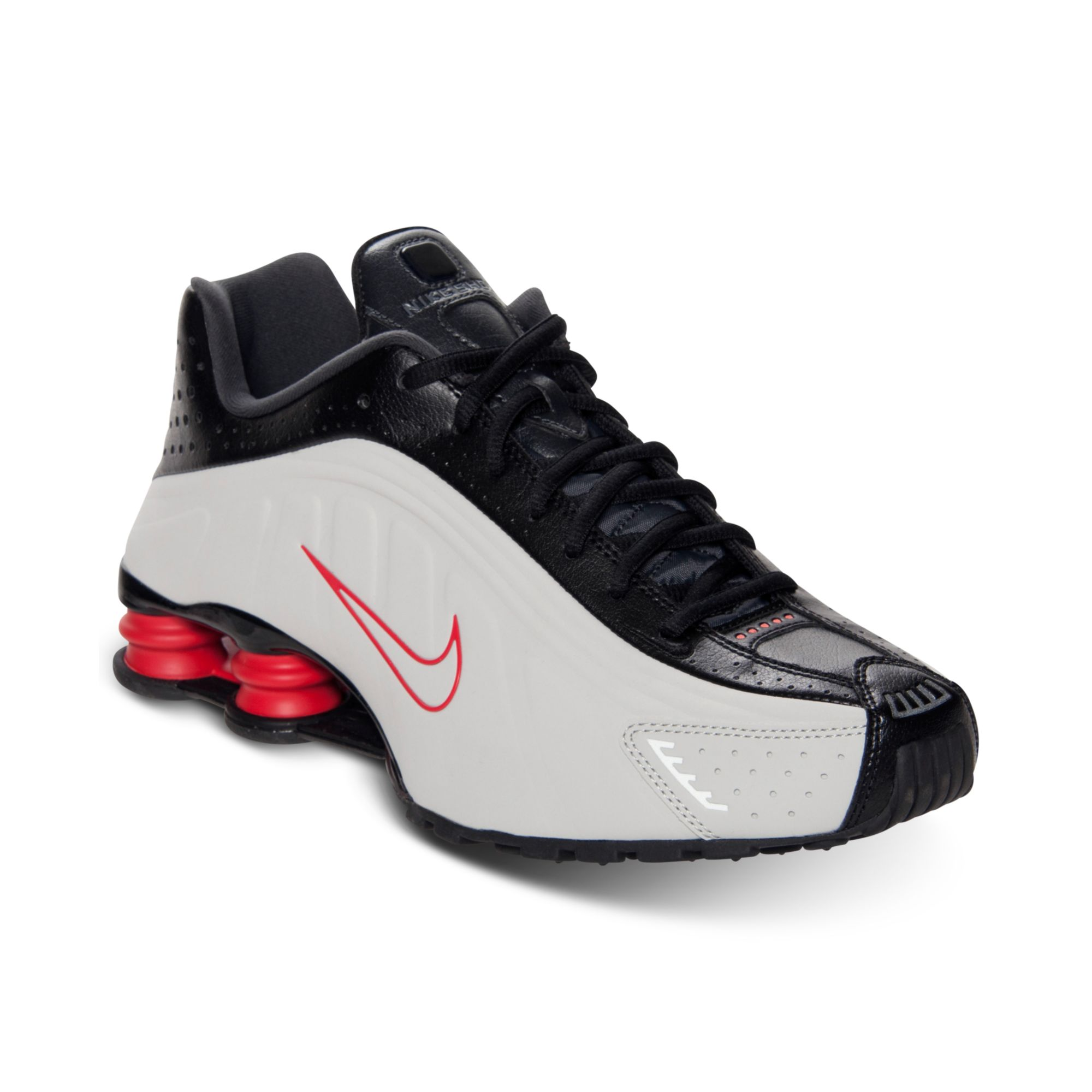 pretty nice fc68e 70930 Nike Mens Shox R4 Running Shoes From Finish Line in Black for Men - Lyst