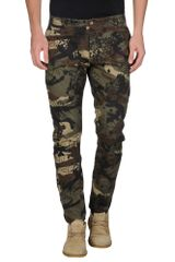Officina 36 Casual Trouser - Lyst
