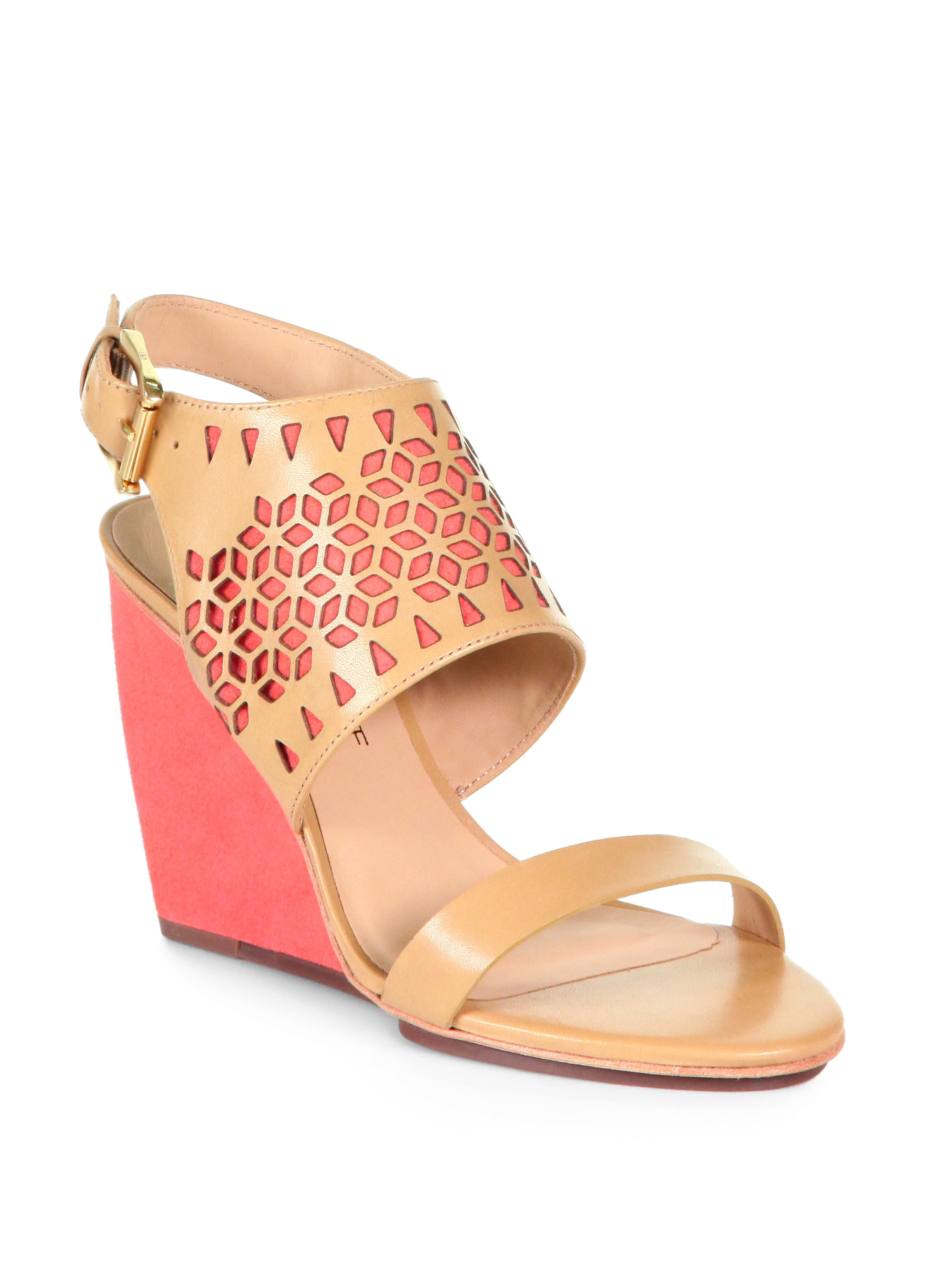 Rebecca Minkoff Leather Laser Cut Wedges free shipping shop cheap wide range of 4O0Xg4