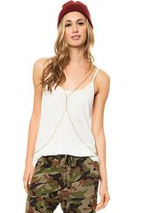 RVCA The Label Racer Tank - Lyst