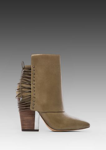 Sam Edelman Martina Bootie in Green - Lyst