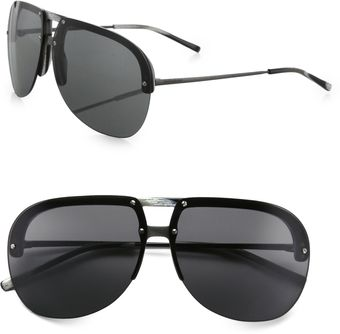 Yves Saint Laurent Aviator Sunglasses - Lyst