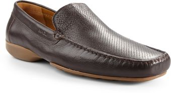Bruno Magli Klover Leather Loafers - Lyst