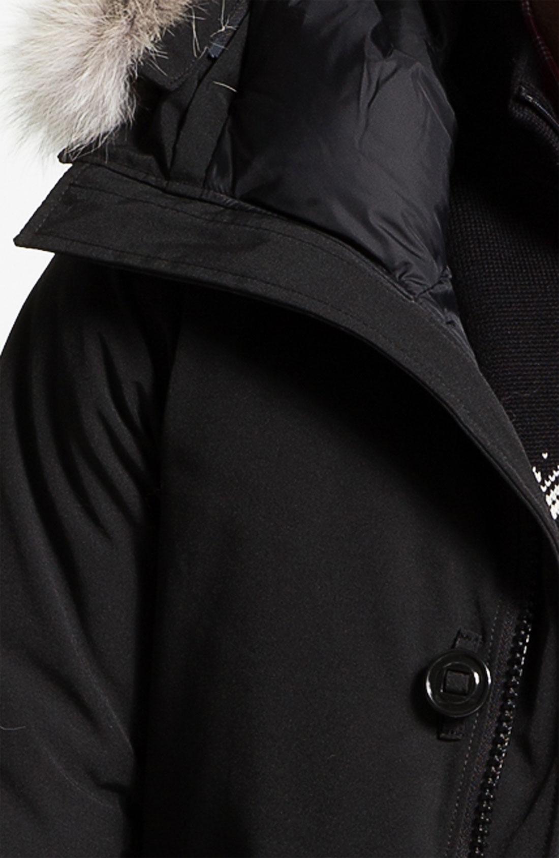 Canada Goose trillium parka online price - Canada goose 'chateau' Slim Fit Genuine Coyote Fur Trim Jacket in ...