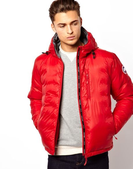 Canada Goose' lodge down jacket men's white