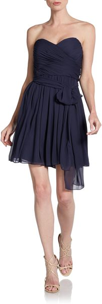 Jill Stuart Strapless Sweetheart Cocktail Dress - Lyst