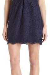 Joie Floral Lace Sleeveless Dress - Lyst