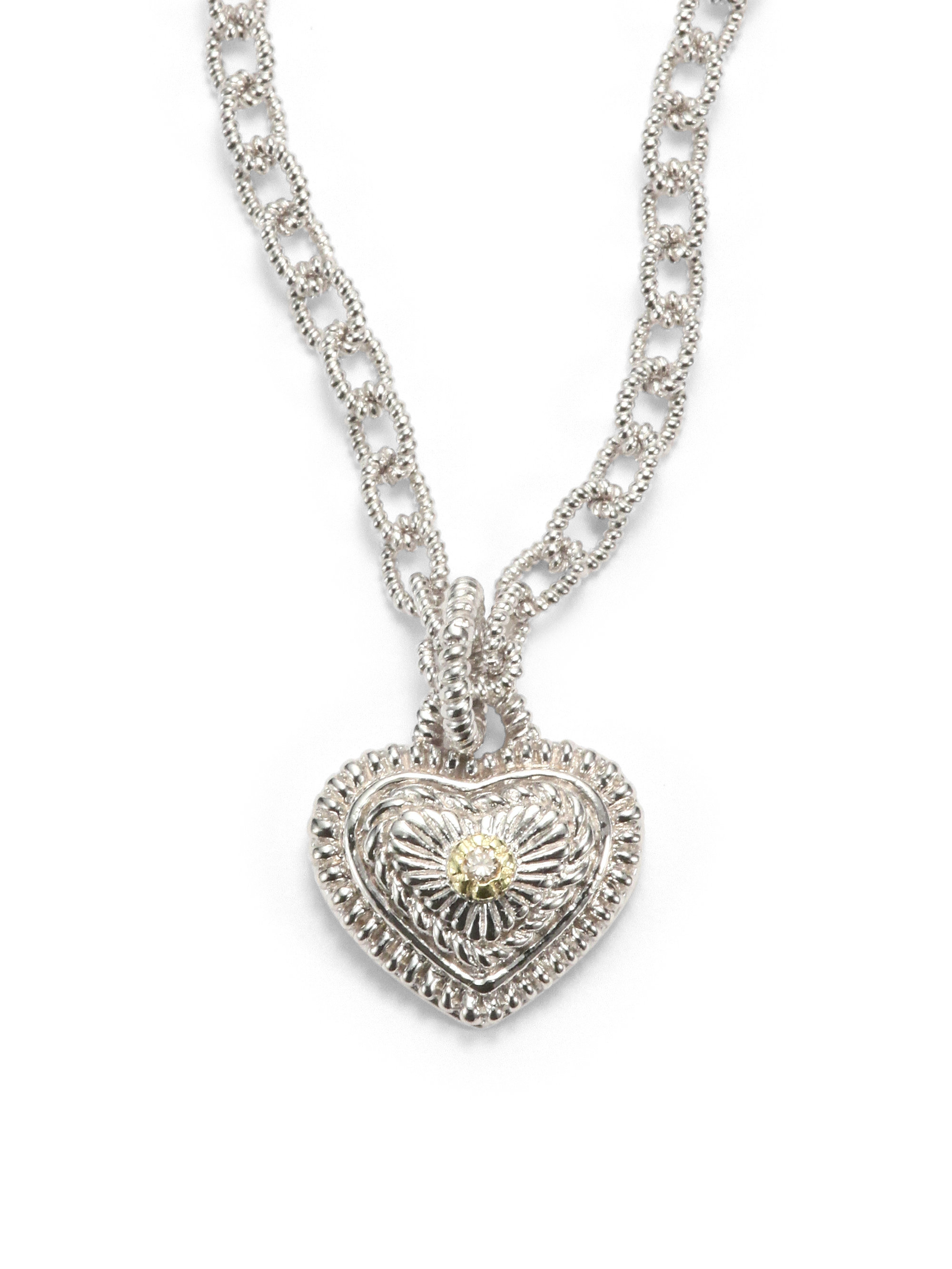 ripka crystal silver shop canary estate white sterling sapphire product judith pendant necklace of image