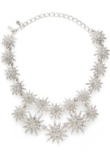 Kenneth Jay Lane Starburst Double Row Necklace - Lyst