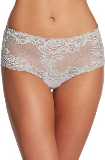 Natori Feathers Mesh Brief - Lyst