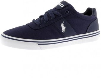 Ralph Lauren Hanford Ne Canvas Trainers - Lyst