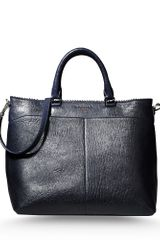 Rochas Large Leather Bag - Lyst