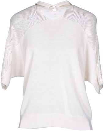 Cacharel Short Sleeve Sweater - Lyst