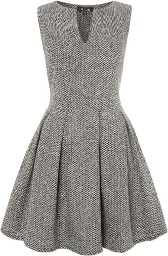Cutie V Neck Sleeveless Dress - Lyst