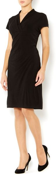Episode Gathered Side Shift Dress - Lyst