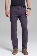 J Brand Jeans Kane Slim Straight Fit in Night Shade - Lyst