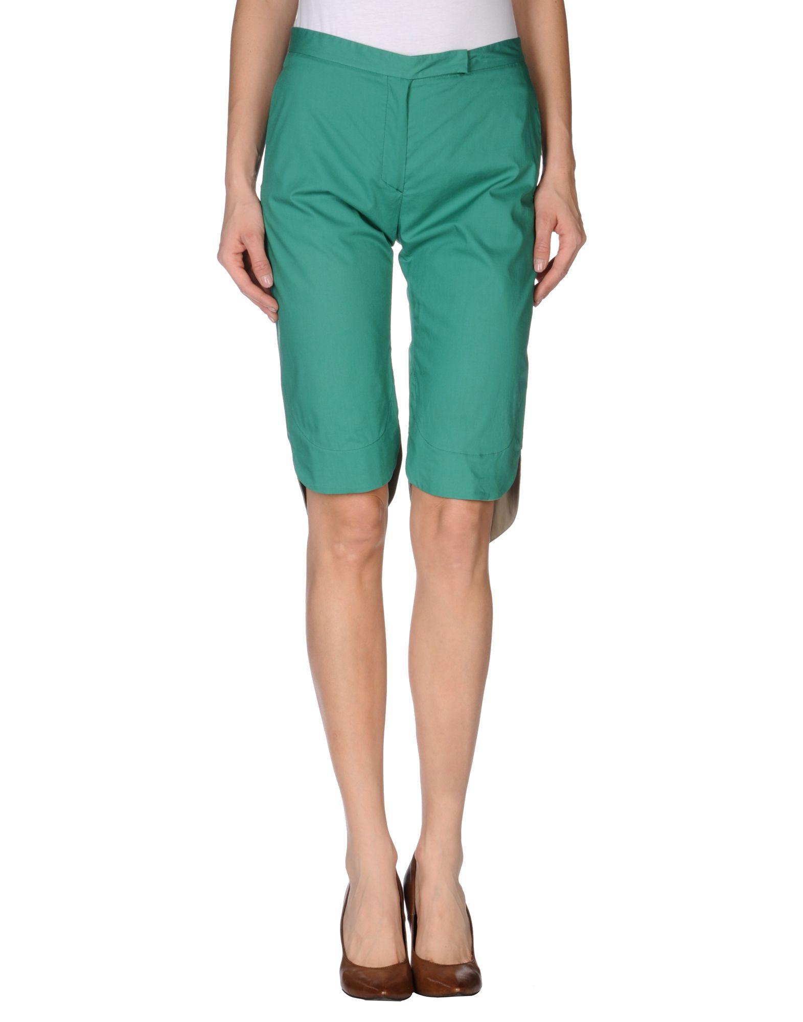 Maurizio pecoraro bermuda shorts in green lyst for Maurizio pecoraro shop on line