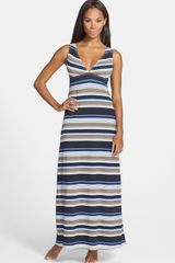 Tommy Bahama Variegated Stripe Coverup Maxi Dress - Lyst
