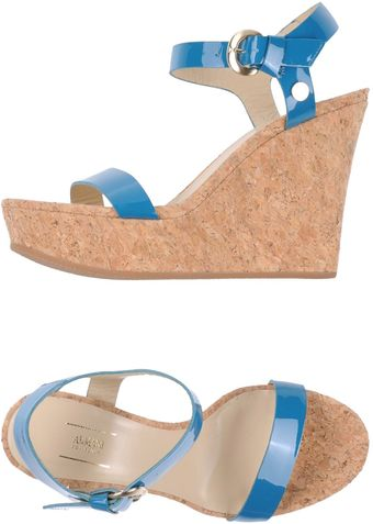 Armani Wedge - Lyst