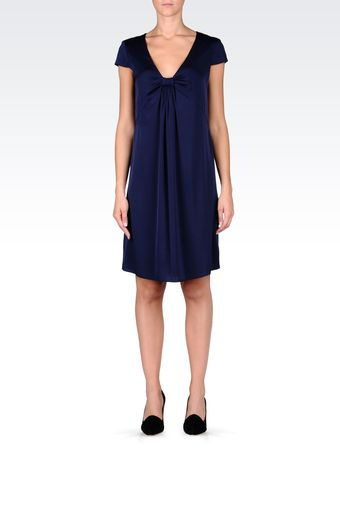 Armani Short Dress - Lyst