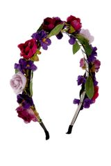 Asos Limited Edition Roses Hairband - Lyst