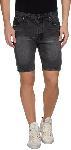 Cheap Monday Denim Bermudas - Lyst