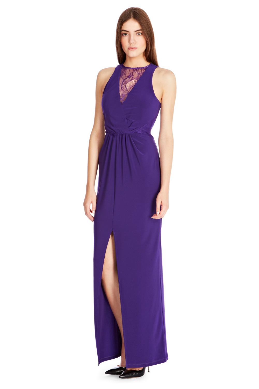 Coast maxi purple dresses