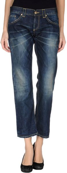 Dondup Denim Pants - Lyst
