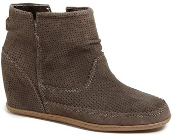 Dv By Dolce Vita Keebly Hidden Wedge Suede Bootie - Lyst