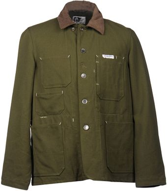 Engineered Garments Midlength Jacket - Lyst