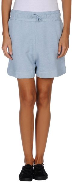 Ganni Sweat Shorts - Lyst