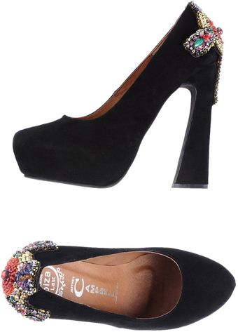 Jeffrey Campbell Platform Pumps - Lyst