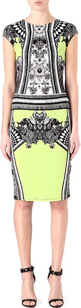 Roberto Cavalli Print Stretchjersey Dress - Lyst