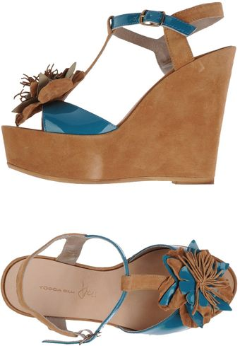 Tosca Blu Wedge - Lyst