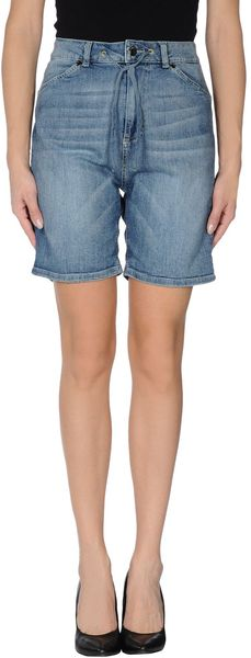 Twin-set Simona Barbieri Denim Bermudas - Lyst