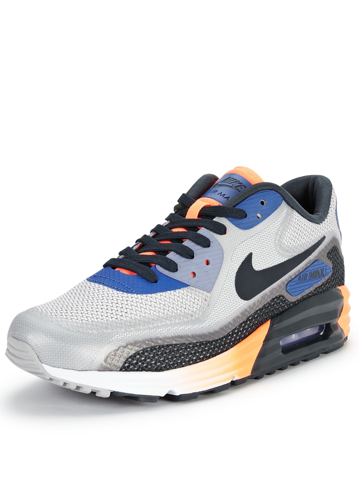 nike nike air max 90 lunar c30 mens trainers in blue for. Black Bedroom Furniture Sets. Home Design Ideas