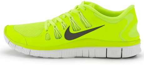 Nike Nike Free 50 Mens Trainers in Yellow for Men neon #2: very neon yellow nike free 50 mens trainers product 4 large flex