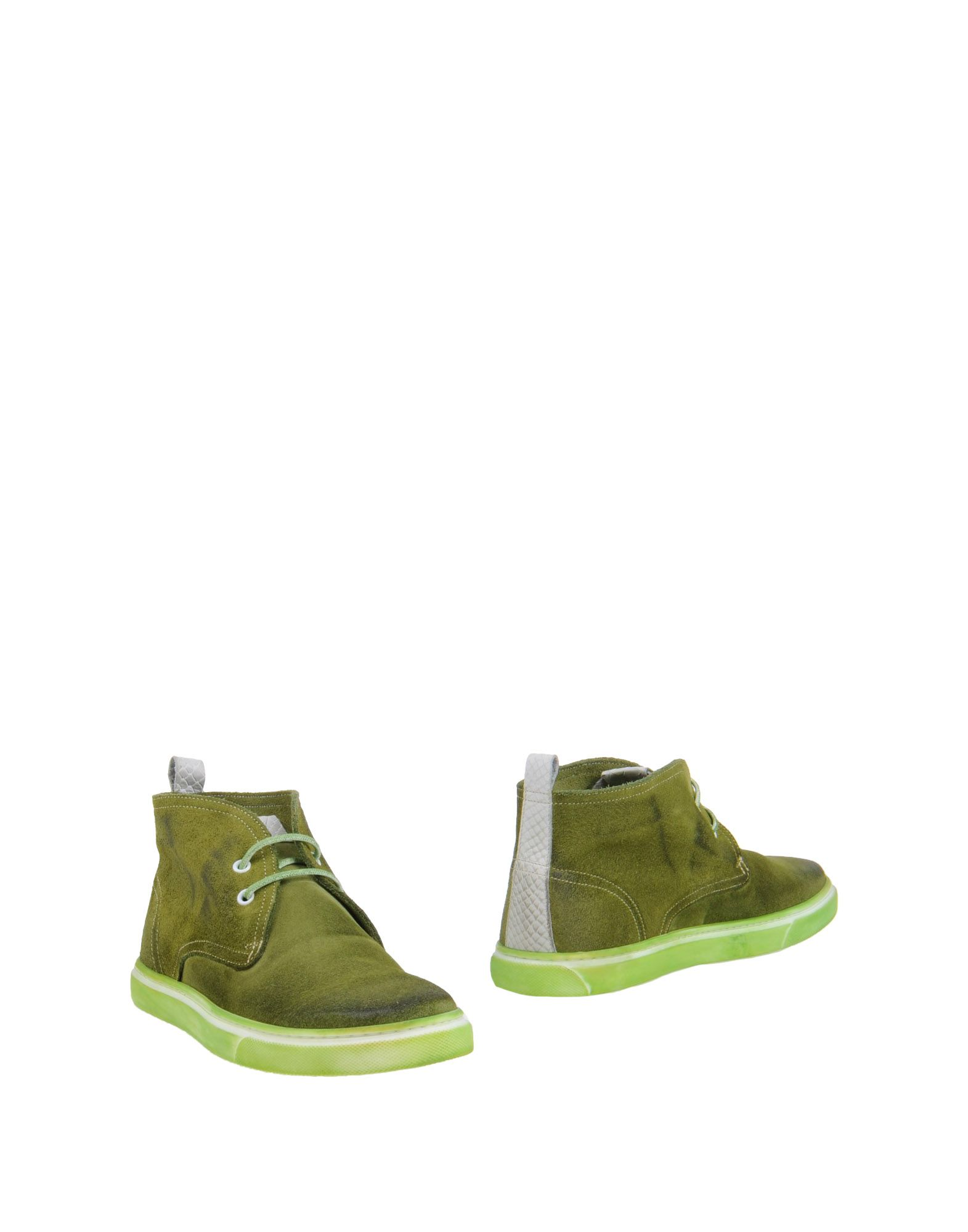 ylati high top dress shoe in green for lyst