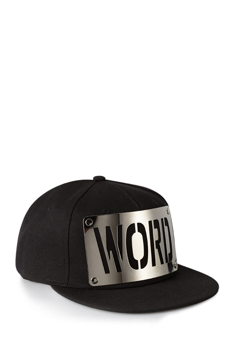 2b676b5b9cc Lyst - Forever 21 Swag Snapback Hat in Black for Men