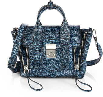 3.1 Phillip Lim Pashli Mini Stamped Leather Satchel - Lyst